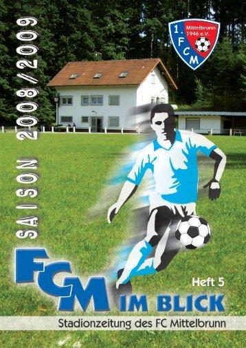SV Mackenbach II - 1. FC Mittelbrunn eV