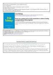 Avian Pathology Plasma urea, creatinine and uric ... - 2ndChance.info
