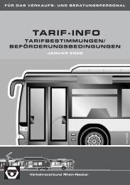 TARIF-INFO - Nahverkehrsgesellschaft Baden-Württemberg mbh