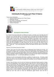 Download Newsletter Dezember 2012 - 4 Blutgruppen - Ernährung ...