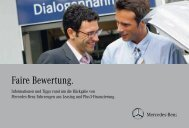 Faire Bewertung (197 kb) - Mercedes-Benz Niederlassung Aachen
