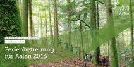 Broschüre Ferienbetreuungs-Angebote 2013 (pdf, 0,3 ... - Stadt Aalen