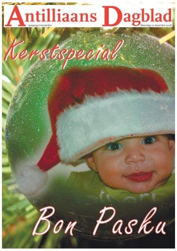 Maandag 22 december 2008 Jaargang 6 kersteditie - ABCourant N.V.