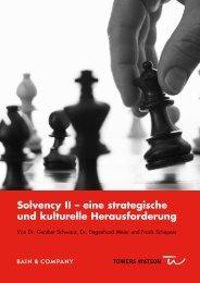 Solvency II – eine strategische und kulturelle ... - Bain & Company