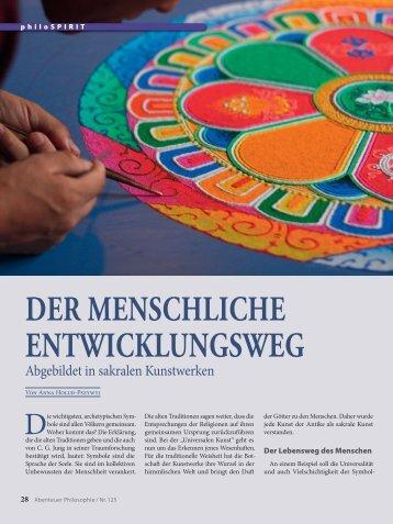 DER MENSCHLICHE ENTWICKLUNGSWEG - Abenteuer Philosophie