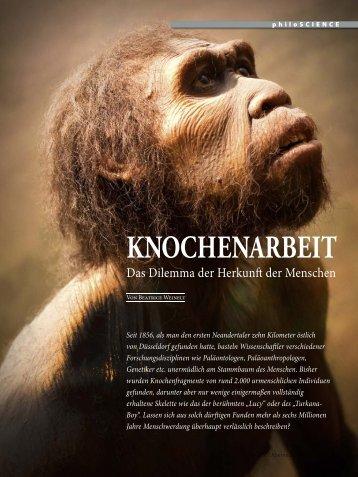 KNOCHENARBEIT - Abenteuer Philosophie