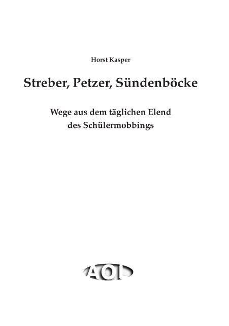 Streber, Petzer, Sündenböcke - Abitur-Hilfe.de