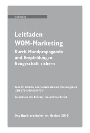 Leitfaden WOM-Marketing - Absolit