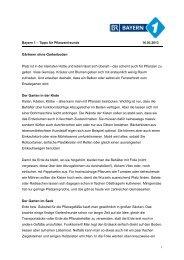 Gärtnern ohne Gartenboden - Tipps für Pflanzenfreunde - Bayern 1 ...