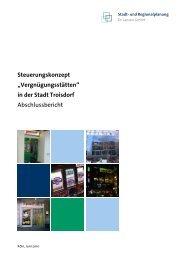 Anlage zur Begründung - Vorentwurf (7,69 MB) - Stadt Troisdorf