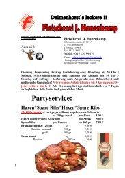 Partyservice: