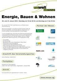 Energie, Bauen & Wohnen