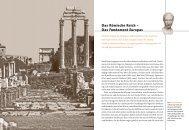 Das Römische Reich – Das Fundament Europas