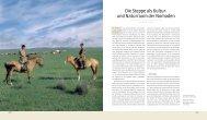 Die Steppe als Kultur- und Naturraum der Nomaden