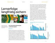 Lernerfolge langfristig sichern - Sinus Bayern