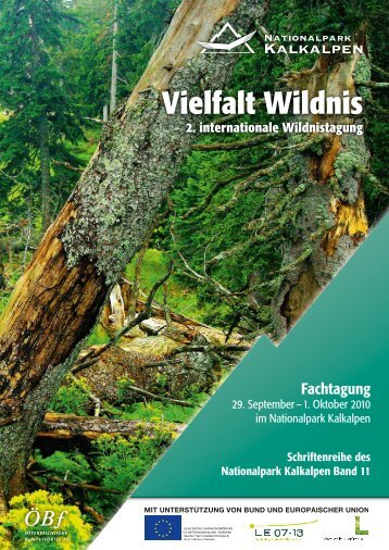 Vielfalt Wildnis - Nationalpark Kalkalpen
