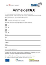 Geh deinen Weg - Anmeldeformular (PDF, 0.1 MB) - traffiQ