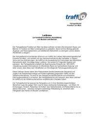 Leitlinien zur kundenfreundlichen Ausstattung von Bussen ... - traffiQ