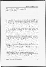 Wirtschafts - Das Jahrbuch der Europäischen Integration 2012