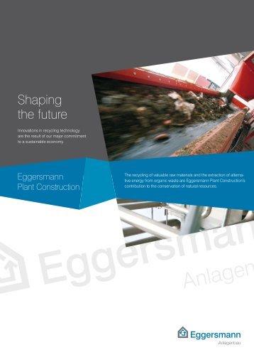 Shaping the future - Eggersmann Gruppe