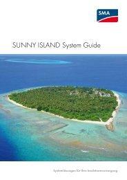 SUNNY ISLAND System Guide - SMA Solar Technology AG