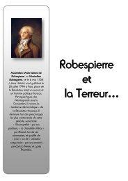 Robespierre et la Terreur…