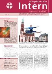 Ausgabe Nr. 117 - Mai 2009 - Evangelische Kirche Frankfurt am Main