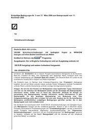 Endgültige Bedingungen Nr. 3 vom 31. März 2006 ... - Börse Stuttgart