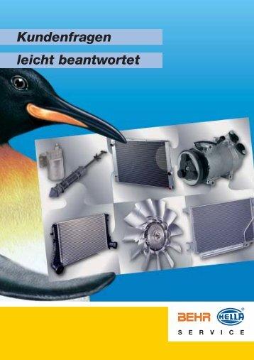 Das Klimasystem – Fehler und Auswirkung - Behr Hella Service GmbH
