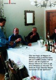 Ein Schuß für mehr Genuß (PDF) - Der Whisky-Botschafter