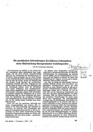 47) Dr. R. Stoerger, Nürnberg, Medizinischen ... - Strophantus.de