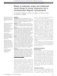 tracheobronchial Wegener's granulomatosis steroid therapy for ... - Page 2