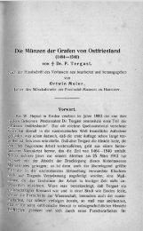 Die Münzen der Grafen von Ostfriesland (1464-1540)