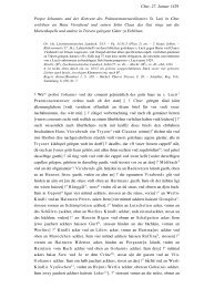 Chur, 27. Januar 1429 Propst Johannes und der ... - GMG Login