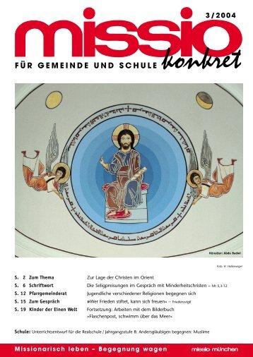 f ü r gemeinde und schule 3/2004