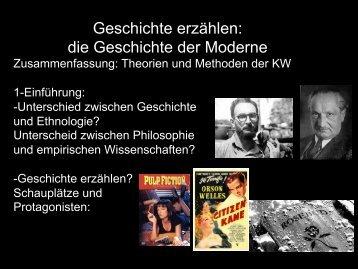 06-GeschichteKracauer - Theorien und Methoden der ...