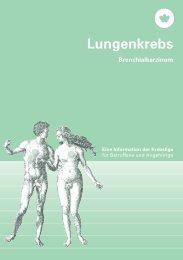 Lungenkrebs – Eine Information der Krebsliga - Krebsliga Schweiz