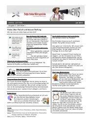 03 News Letter PDF - Zehn kleine Metzgerlein