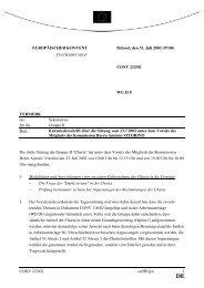 CONV 223/02 WG II 8 VERMERK des Sekretariats f