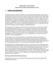 Erklärung von Laeken - European Convention - Europa