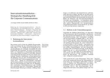 Innovationskommunikation - BIOPRO Baden-Württemberg GmbH