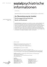 Zur Ökonomisierung des Sozialen - Kulturserver NRW