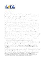 SEPA - Sind Sie bereit? Am 1. Februar 2014 ist es soweit: Es gilt für ...
