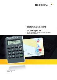 Bedienungsanleitung tanJack® optic SE - pitcom GmbH