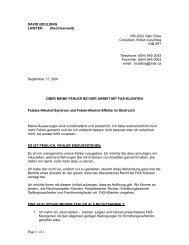 Brief David Boulding - FASD - Deutschland eV