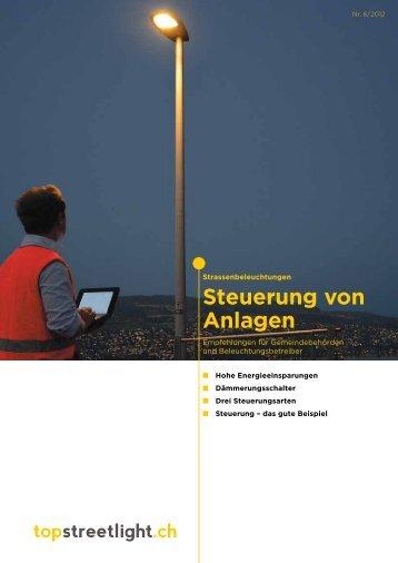 Strassenbeleuchtung: Steuerung von Anlagen - Safe