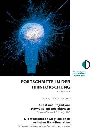 FORTSCHRITTE IN DER HIRNFORSCHUNG - Dana Foundation