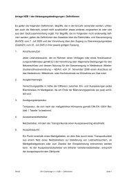 Anlage NZB 1 der Netzzugangsbedingungen: Definitionen Es gelten ...