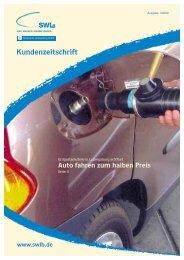Kundenzeitschrift - Stadtwerke Ludwigsburg