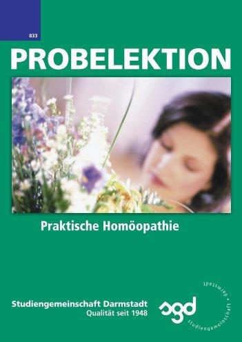 Praktische Homöopathie - Gesundheitsberufe